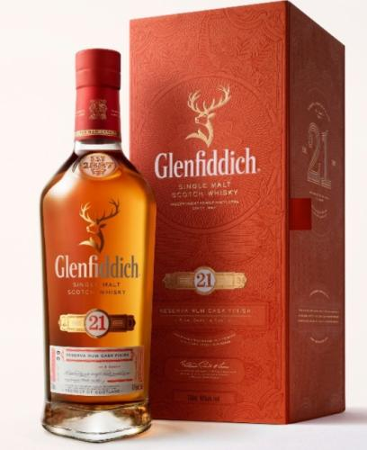 GLENFIDDICH 21YO RUM CASK FINISH 700ML