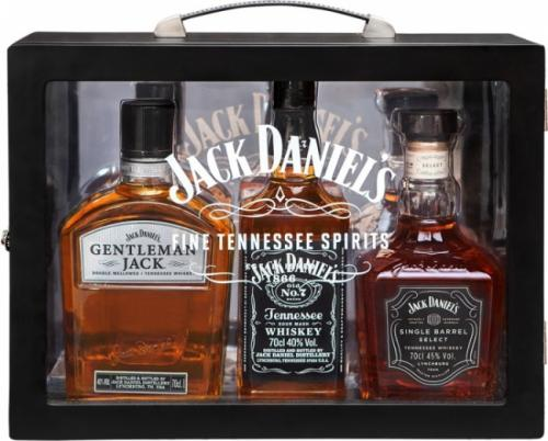 JACK DANIELS FAMILY BOX 3x700ML