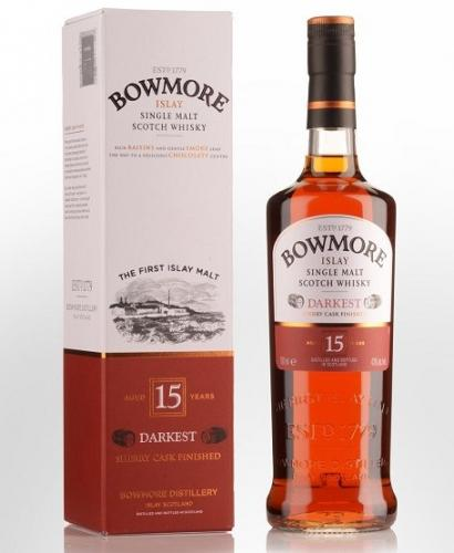 BOWMORE DARKEST 15YO 700ML