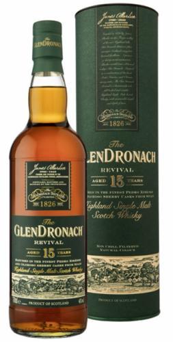 GLENDRONACH REVIVAL 15YO 700ML