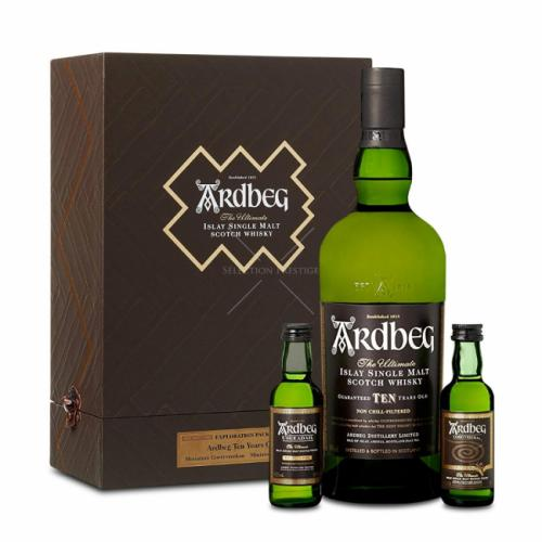 ARDBEG EXPLORATION PACK 700ML + 2x50ML
