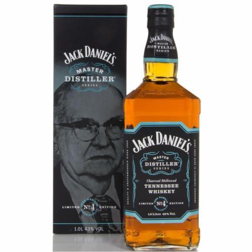 JACK DANIELS 1L MASTER DIST. COLL NO.4